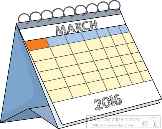 Free clipart calendar 2016 image free library Free Calendar Clipart - Clip Art Pictures - Graphics - Illustrations image free library