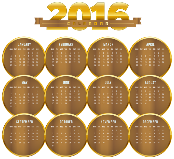 Free clipart calendar 2016 jpg library stock Gallery - Free Clipart Pictures jpg library stock