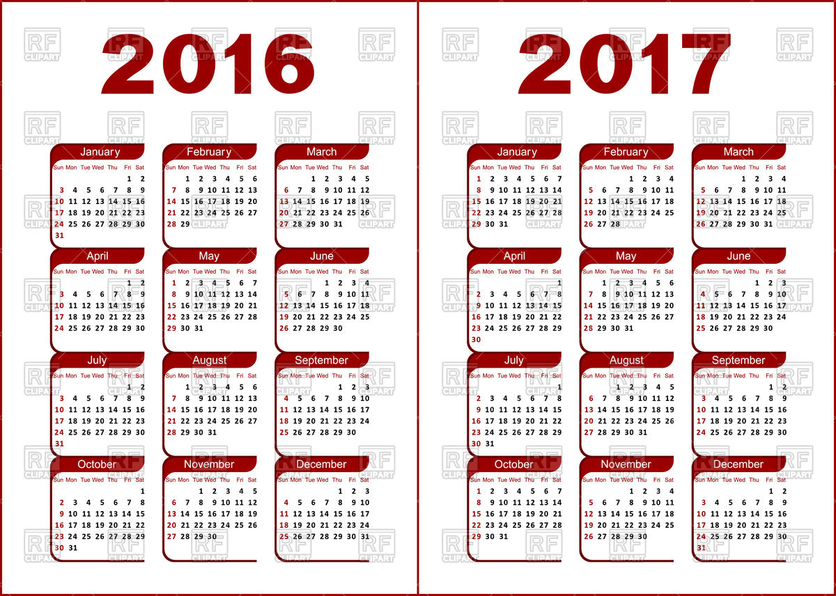 Free clipart calendar 2016 image royalty free library Free clipart calendar 2016 - ClipartFest image royalty free library