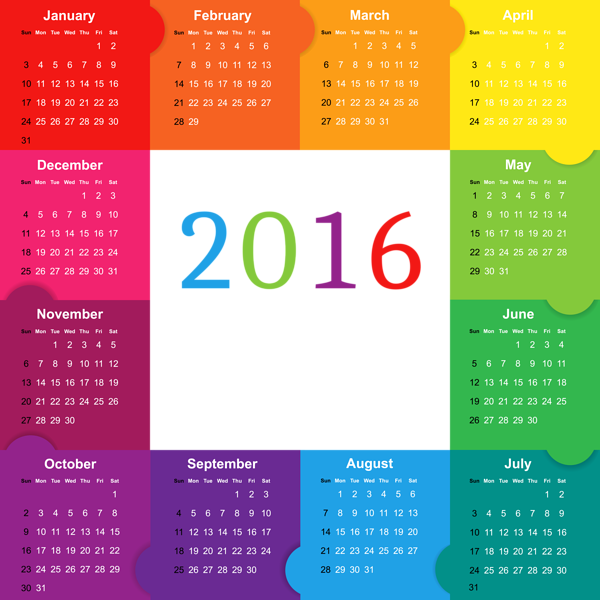 Free clipart calendar 2016 picture free Gallery - Free Clipart Pictures picture free