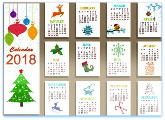 Free clipart calendar 2018. Calendars printable