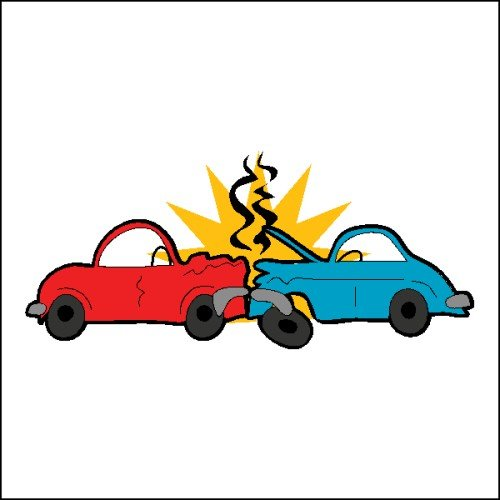 Cartoon wreck download clip. Free clipart car crash