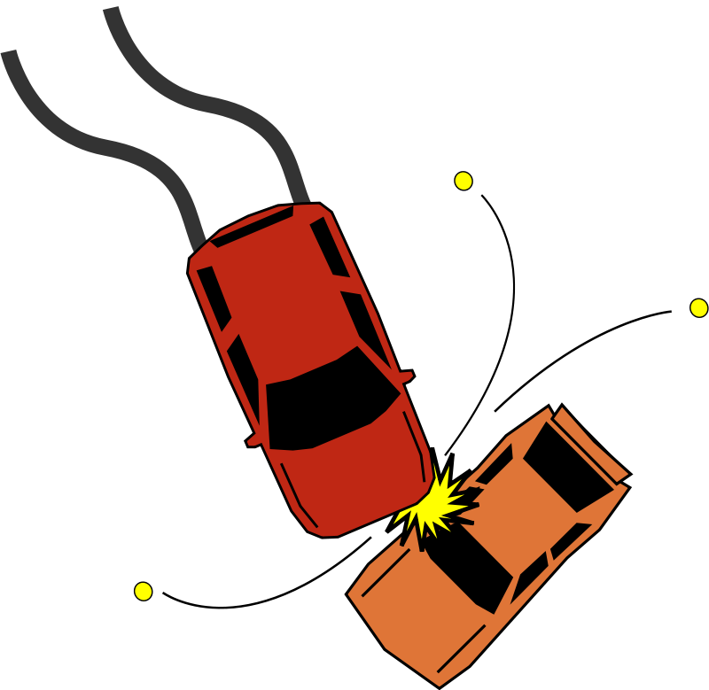Free clipart car crash clip art free Free clip art \