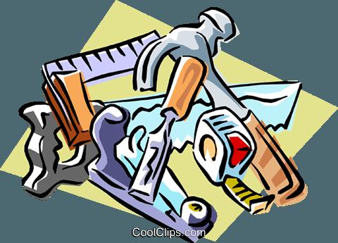 Free clipart carpentry tools jpg free stock carpentry tools Royalty Free Vector Clip Art illustration -indu0781 ... jpg free stock