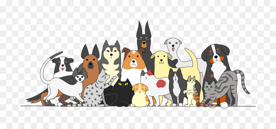 Free clipart cat and dog happy thanksgiving day jpg freeuse download Cat And Dog Cartoon png download - 768*420 - Free Transparent Dog ... jpg freeuse download