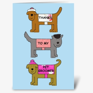Free clipart cat and dog happy thanksgiving day banner free download Thanks To My Pet Groomer - Mother\'s Day With Dogs #1608652 - Free ... banner free download