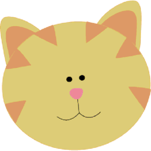 Free clipart cat face png royalty free download Yellow cat face clipart, cliparts of Yellow cat face free download ... png royalty free download