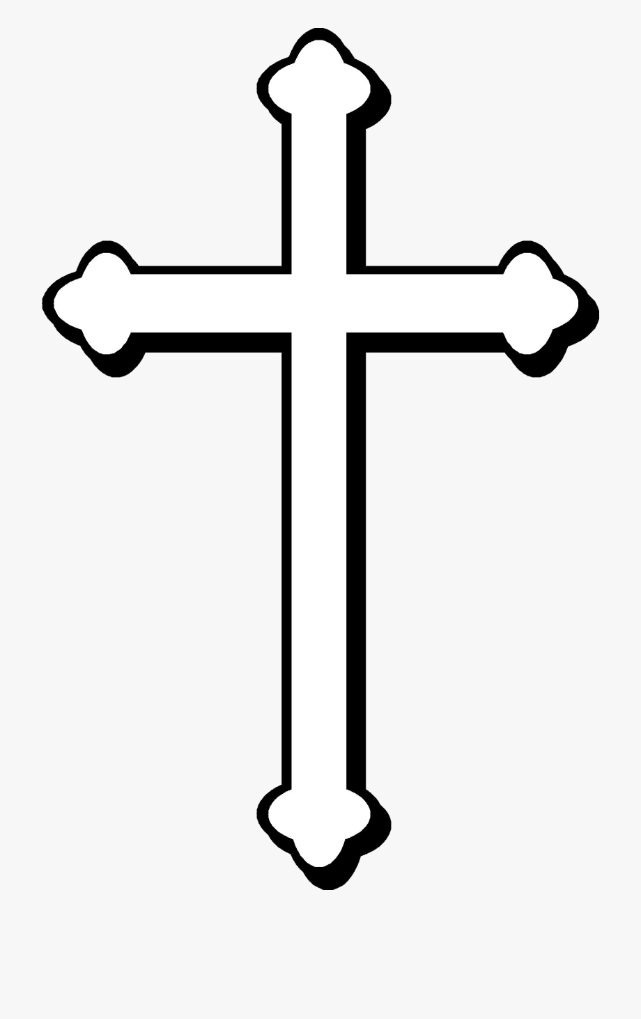 Christian cross png second. Free clipart catholic symbols