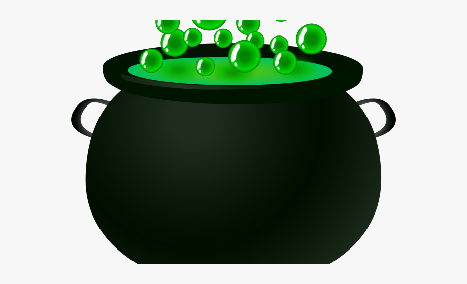 Free clipart cauldron. Witchcraft bubbling pot of