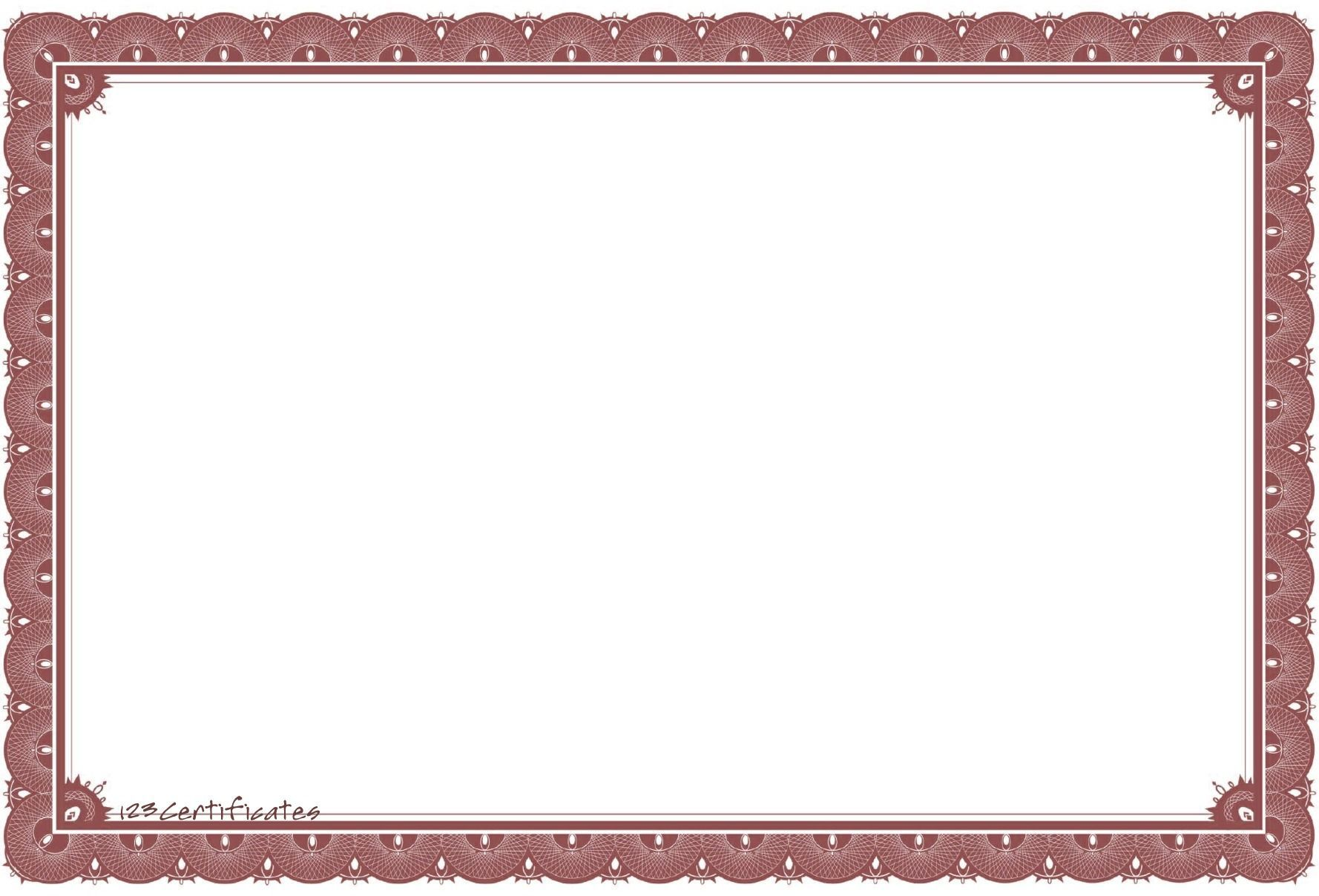 Free clipart certificates template vector free stock Free certificate borders to download, certificate templates for ... vector free stock