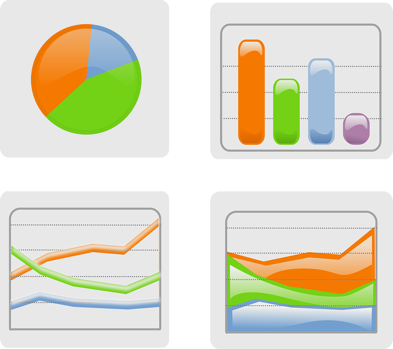 Free clipart charts and graphs clipart black and white download Charts-pie Chart & Histogram & Curve Graph Vector Free - Graphs ... clipart black and white download
