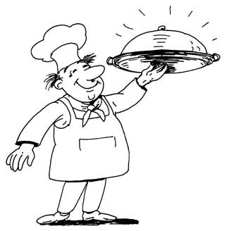 Free clipart chef graphic freeuse Chef clip art free clipart images clipartcow - Clipartix graphic freeuse