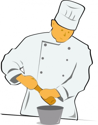 Free clipart chef cooking banner library stock Chef cooking free clipart - Clipartix banner library stock