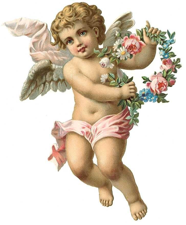 Free clipart cherubs clipart transparent Vintage Angel Clip Art Free | Vintage Angel & fairies (35) | Me ... clipart transparent