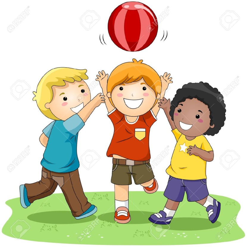 Free clipart children playing outside banner free Kids Playing Clipart Outside - Clipart1001 - Free Cliparts banner free