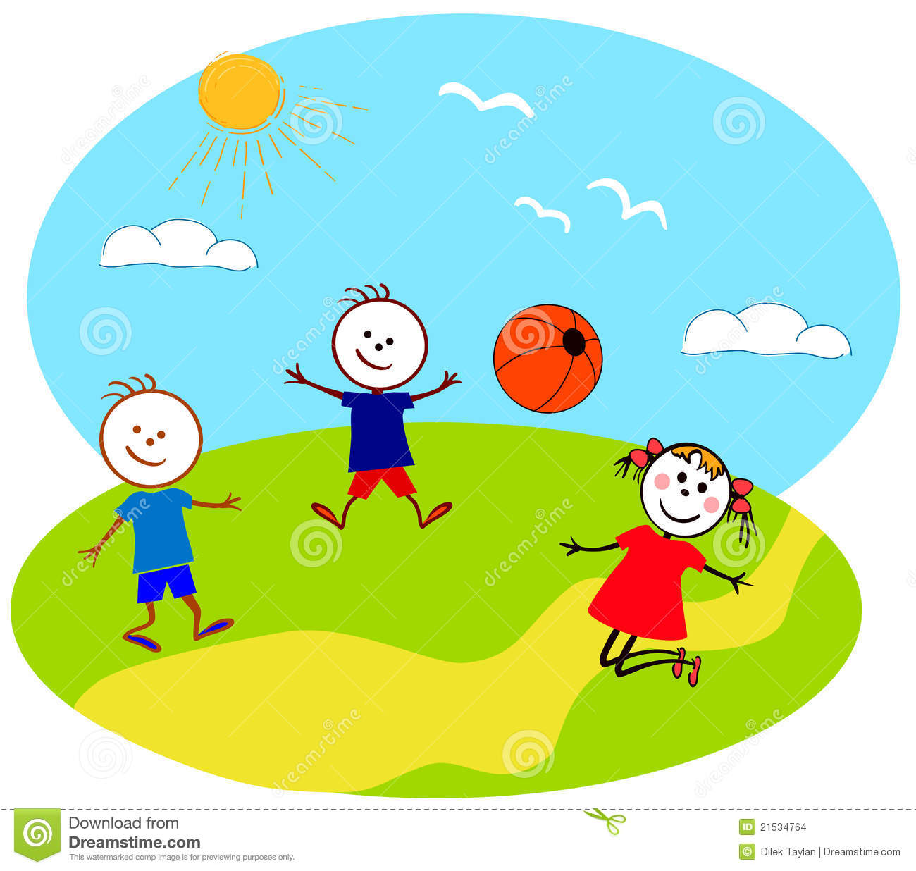 Free clipart children playing outside svg transparent stock Playing Outside Clipart Clipart Suggest - Free Clipart svg transparent stock