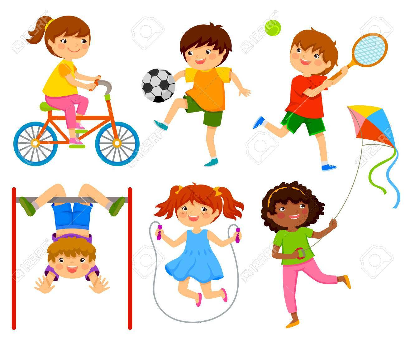 Free clipart children playing outside clipart download Kids playing free clipart 1 » Clipart Portal clipart download