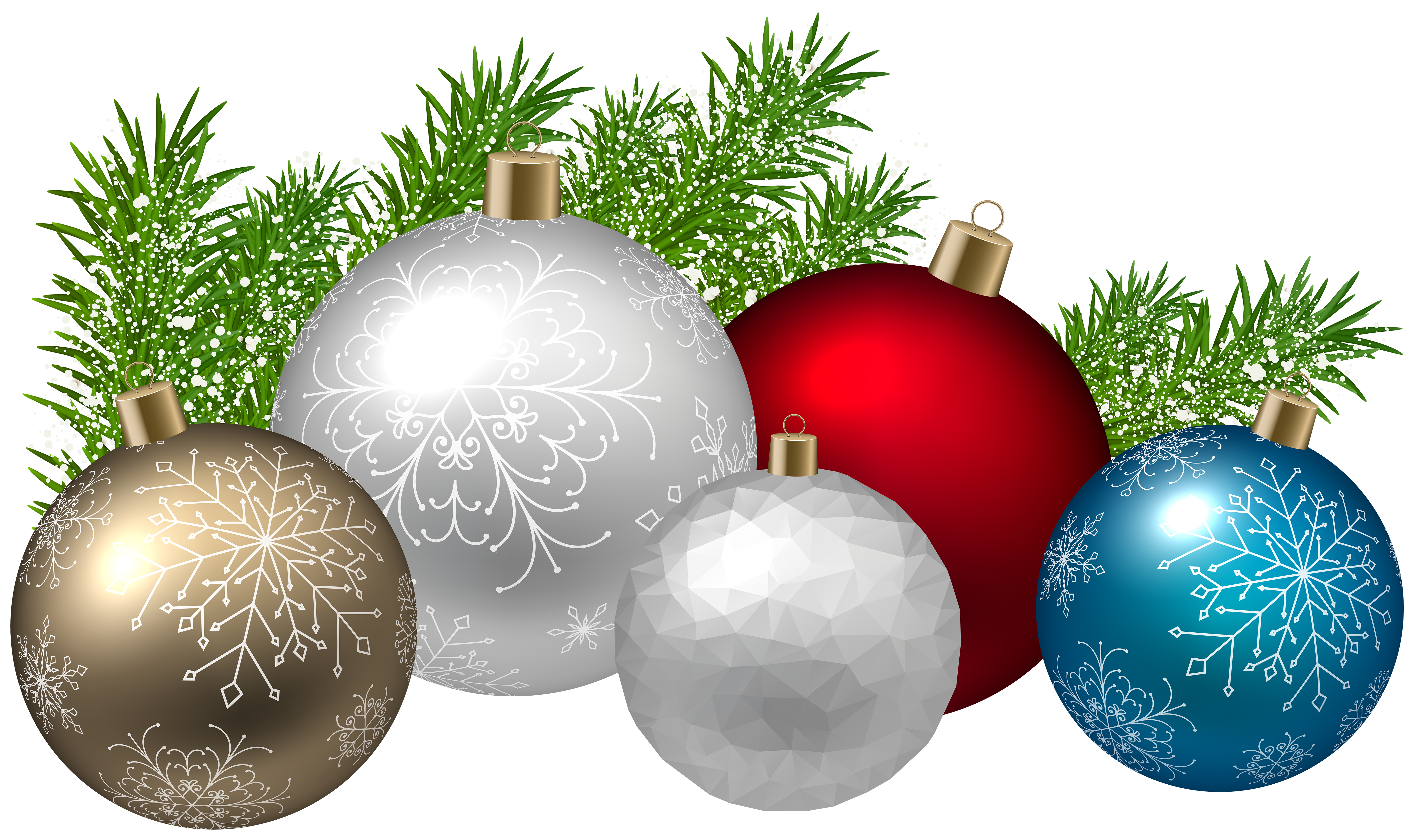 Free clipart christmas decorations freeuse download Christmas Decoration Transparent PNG Clip Art Image   Gallery ... freeuse download