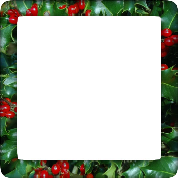 Free clipart christmas holly borders graphic royalty free Free Christmas Holly Borders - Clipart graphic royalty free