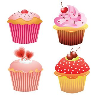Free clipart christmas letter r with bakery food. Clip arts cupcakes fonts