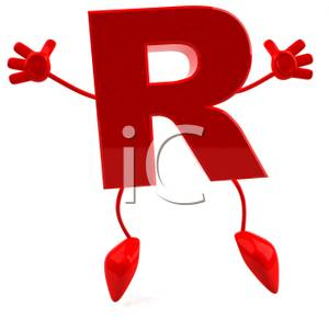 Free clipart christmas letter r with bakery food. Jumping red royalty picture