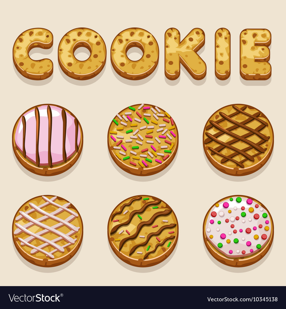Cartoon cookie biskvit letters. Free clipart christmas letter r with bakery food