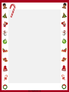 Free clipart christmas letter r with candy canes png royalty free stock This free, printable, winter holiday border features candy canes ... png royalty free stock