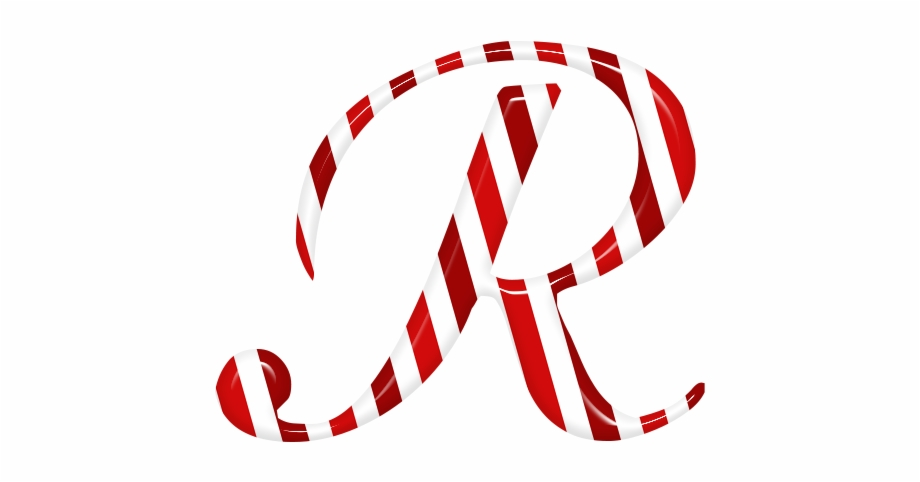Free clipart christmas letter r with candy canes picture free download Candycane Letter R Text Candy 1488245 - Illustration Free PNG Images ... picture free download