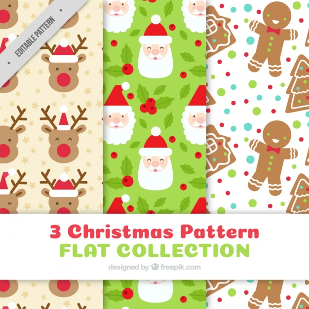 Free clipart christmas patterns clip freeuse library Enjoyable christmas patterns Vector | Free Download clip freeuse library