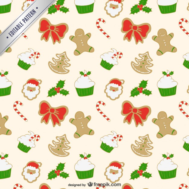 Free clipart christmas patterns banner royalty free Christmas editable pattern Vector | Free Download banner royalty free