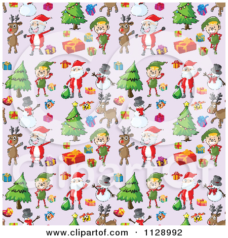Free clipart christmas patterns vector library library Free clipart christmas patterns - ClipartFest vector library library