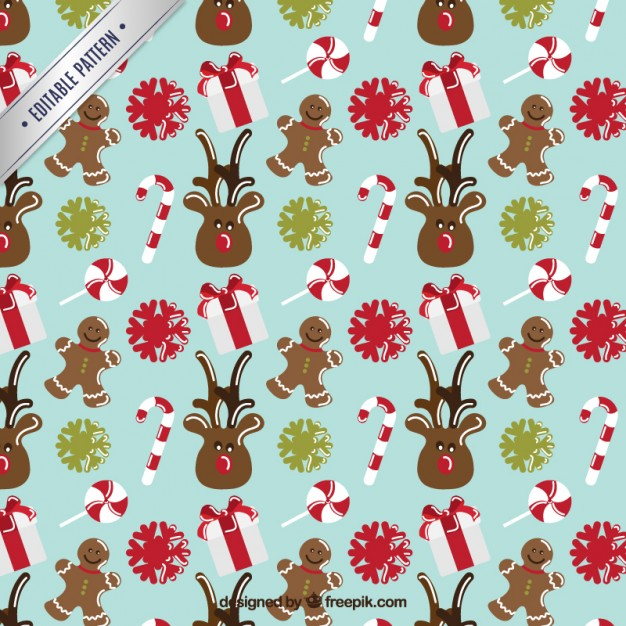 Free clipart christmas patterns vector freeuse Nice christmas pattern Vector | Free Download vector freeuse