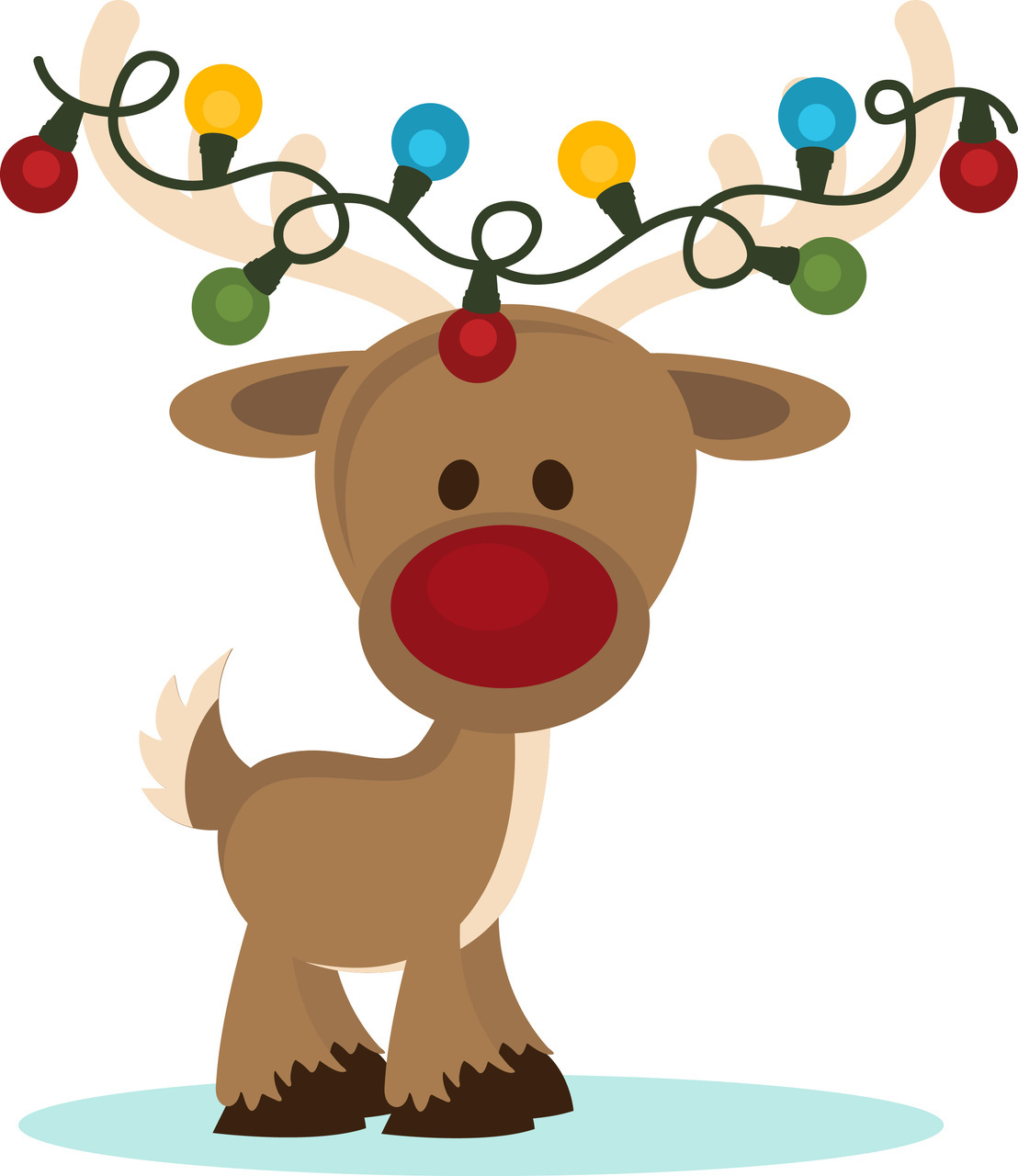 Pretty christmas clipart clip library Christmas Reindeer Clip Art Clip Art Christmas 1 Clipart - Free Clipart clip library