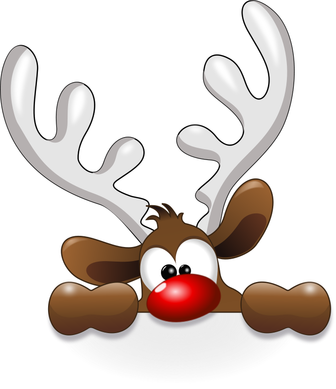 Free clipart christmas reindeer graphic transparent Free Clipart: Funny Reindeer | Animals | cyberscooty | Funny ... graphic transparent
