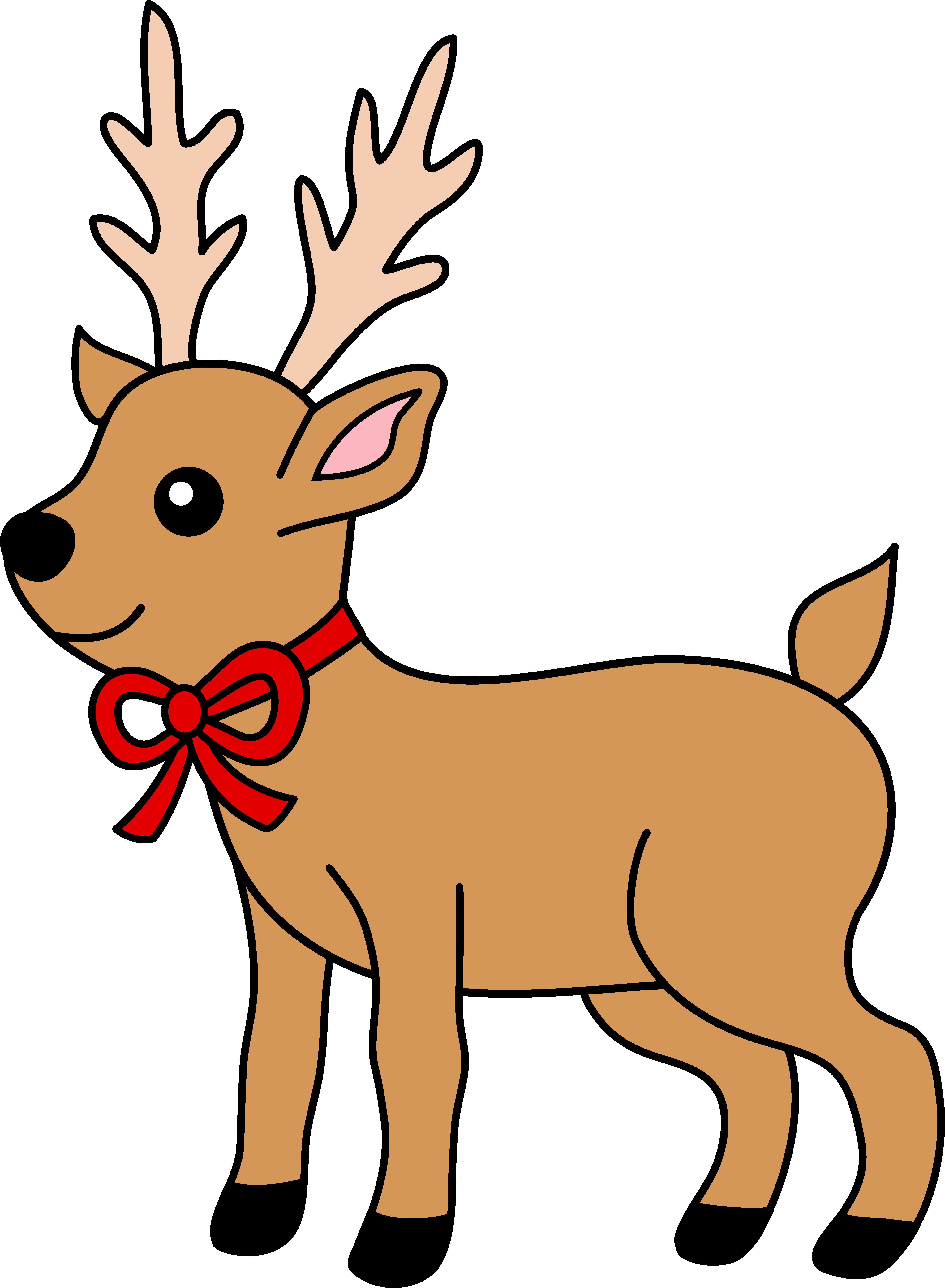Reindeer sayings clipart free clip black and white library Free Christmas Reindeer Clipart, Download Free Clip Art, Free Clip ... clip black and white library