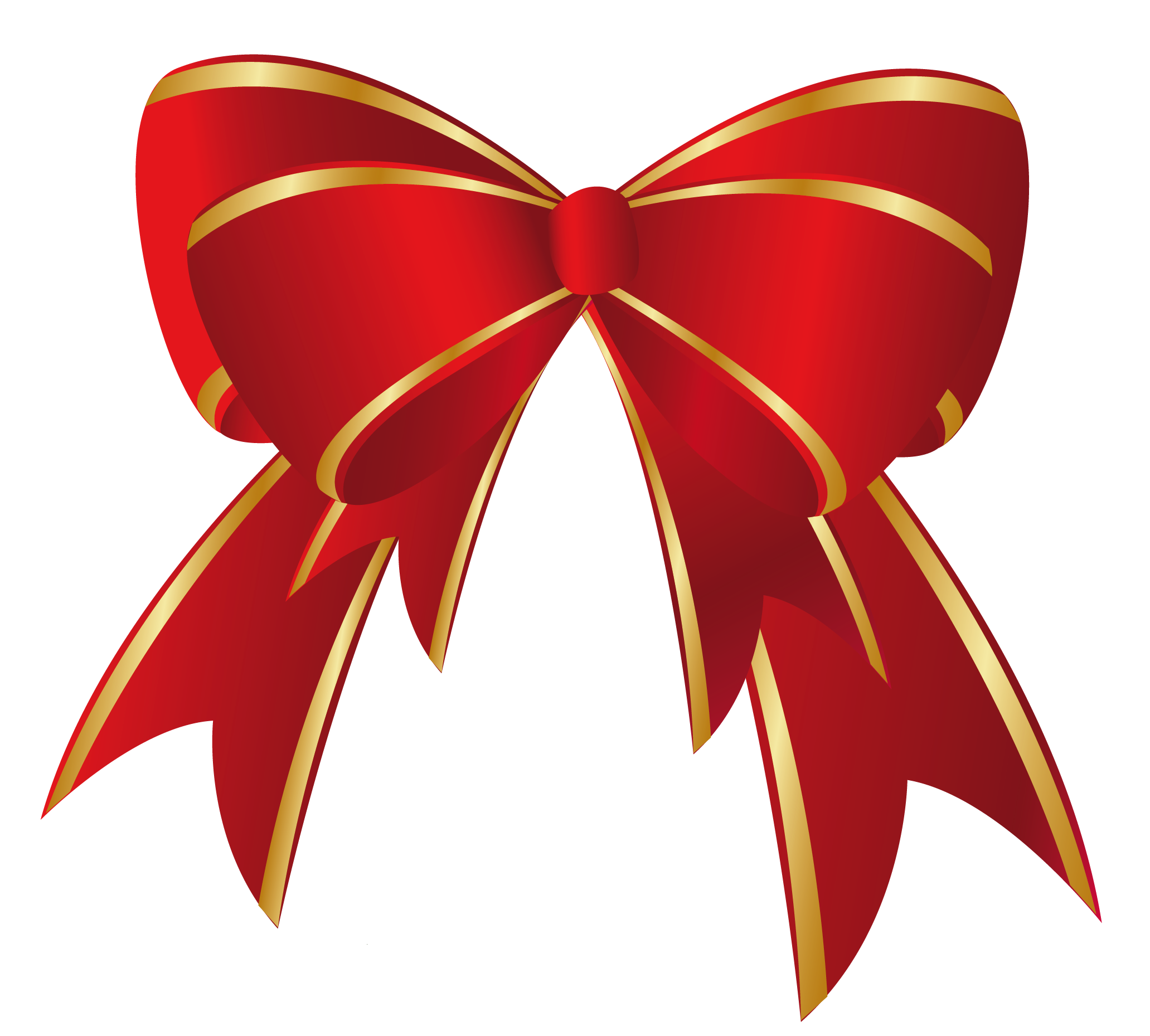 Christmas bows clipart png library download Christmas Ribbon Clip Art & Christmas Ribbon Clip Art Clip Art ... png library download