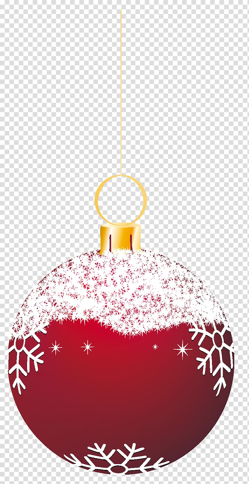 Free clipart christmas round ornaments with string and ribbon green clip royalty free download Red and white snowflakes bauble , Christmas ornament Christmas ... clip royalty free download