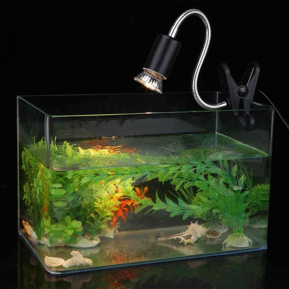 Free clipart clamp heat light fixture for reptiles clip transparent stock Aquarium Adjustable Heating Light Holder Aquarium Clamp Lamp for Reptile  Turtles Temperature Controllable 25/50/75W clip transparent stock