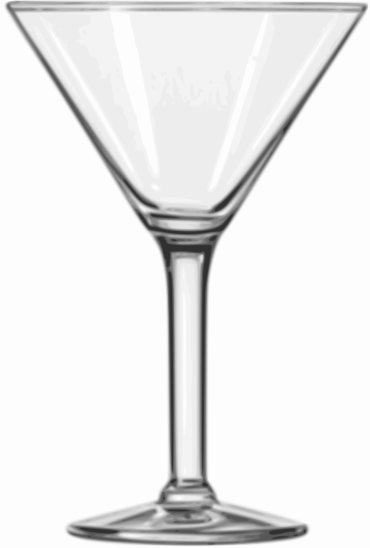 Free clipart cocktail glass picture freeuse stock Free Clipart: Cocktail Glass (Martini) | Willscrlt picture freeuse stock