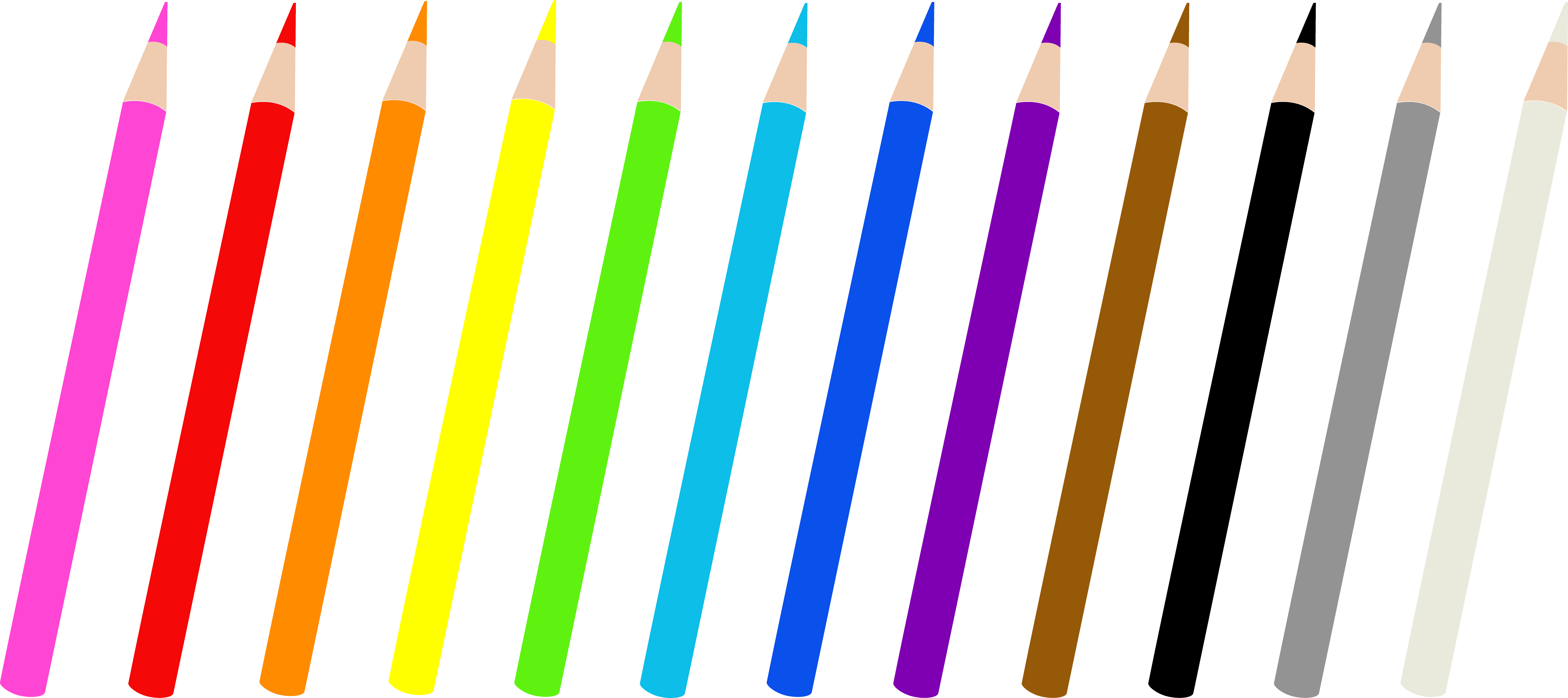 Free clipart colors image transparent library Free Colored Pencils Clipart, Download Free Clip Art, Free Clip Art ... image transparent library