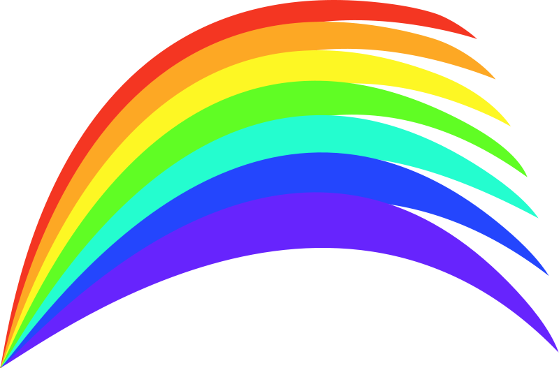 Free clipart colors graphic free stock Free Color Rainbow Cliparts, Download Free Clip Art, Free Clip Art ... graphic free stock
