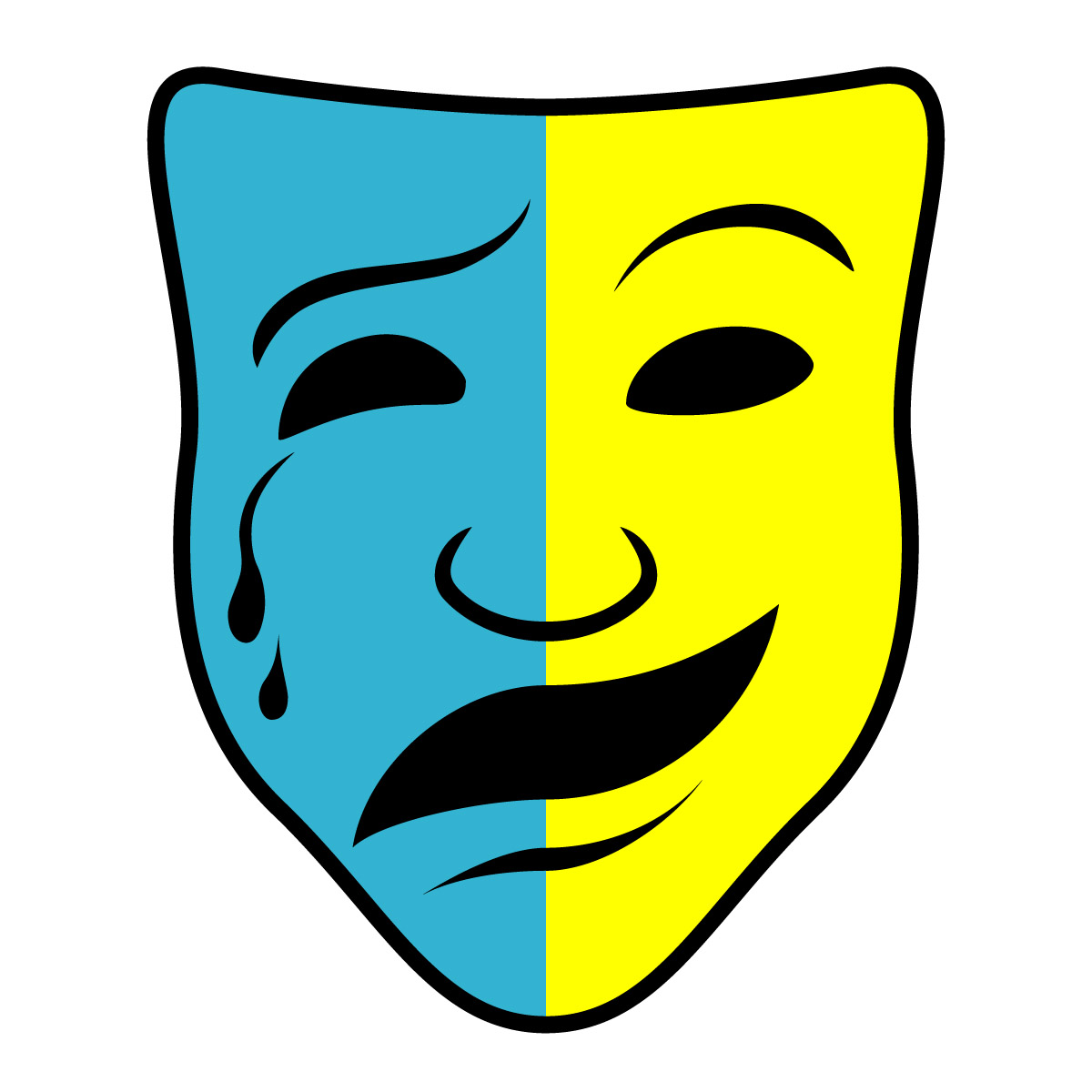 Free clipart comedy tragedy masks. Drama download best on