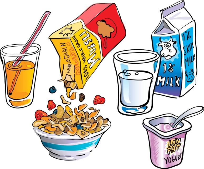 Cliparts download clip art. Free clipart continental breakfast food items