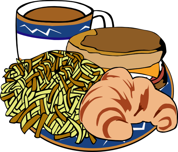 Free clipart continental breakfast food items. Cliparts download clip art