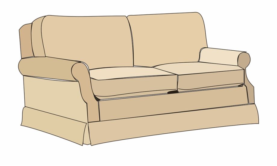Free clipart couch jpg free stock Sofa Couch Furniture - Couch Clipart, Transparent Png Download For ... jpg free stock