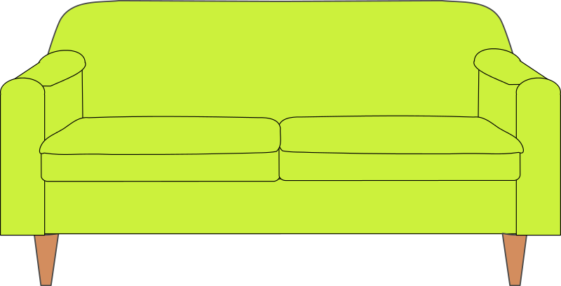 Free clipart couch jpg free stock Free Green Couch Clip Art | Clipart Panda - Free Clipart Images jpg free stock