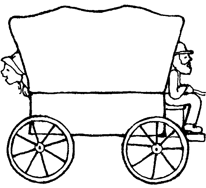 Free clipart covered wagon image black and white library Free Covered Wagon Cliparts, Download Free Clip Art, Free Clip Art ... image black and white library