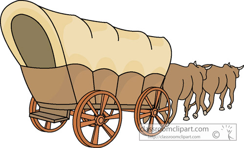 clip art clipartlook. Free covered wagon clipart