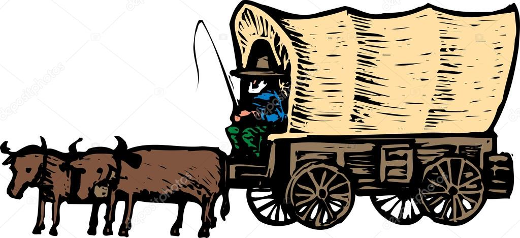 Free clipart covered wagon picture black and white download Covered Wagon Cliparts | Free download best Covered Wagon Cliparts ... picture black and white download