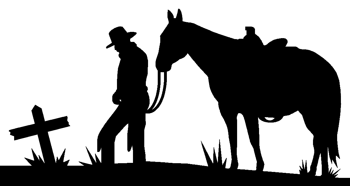 Free clipart cowboys walking with horse svg royalty free library Free Cowboy Silhouette, Download Free Clip Art, Free Clip Art on ... svg royalty free library